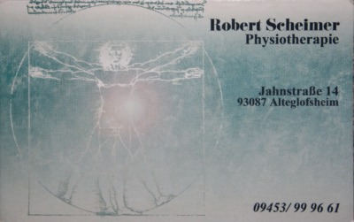 Scheimer Robert Physiotherapie
